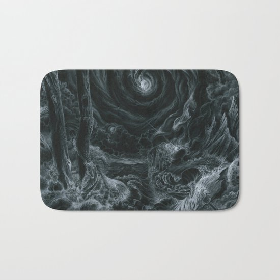 Lets tear it all down and rebuild it with meaning Bath Mat