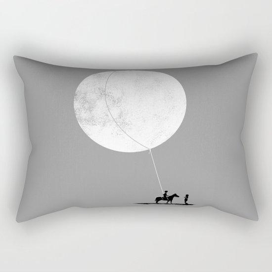 do you want the moon? Rectangular Pillow