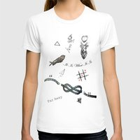 tattoos T-shirts featuring Louis's Tattoos by Kate & Co.