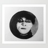 Cabinet of Dr. Caligari Watercolor Art Print