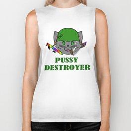 Pussy Destroyer Biker Tank