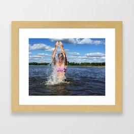 Water as Prophet Framed Art Print