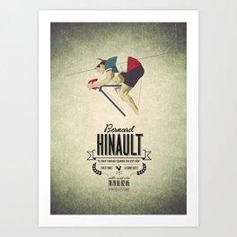 B. Hinault Art Print