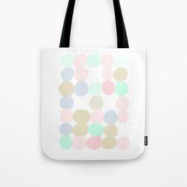 Pastel Spots Tote Bag