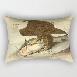 Bald Eagle (Haliaeetus leucocephalus) Rectangular Pillow