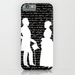 Pride and Prejudice design iPhone Case