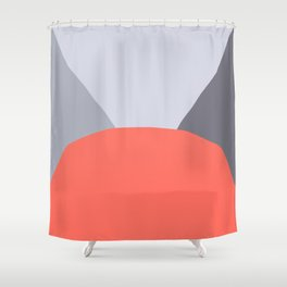 Deyoung Living Coral Shower Curtain