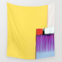 Blue Strings Wall Tapestry