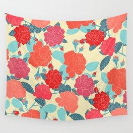 Rose Garden - Light Wall Tapestry