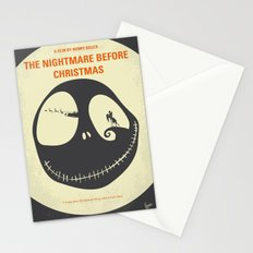 No712 My The Nightmare Before Christmas minimal movie poster Stationery Cards