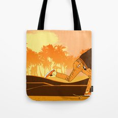 Kick Push.. Coast Tote Bag