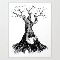 Thinker2 Art Print