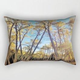 : aspens a glow : Rectangular Pillow