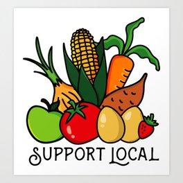 Support Local Art Print