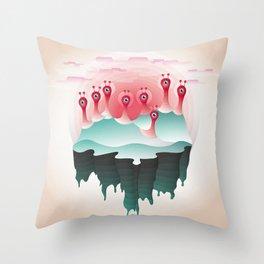 Eyeland Throw Pillow
