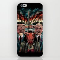 politics iPhone & iPod Skins featuring Pig Politics by John Brogger