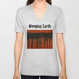 Weeping earth Unisex V-Neck