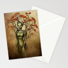 Crimson Dryad Stationery Cards