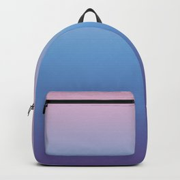 Ombre Pink Blue Ultra Violet Gradient Pattern Backpack