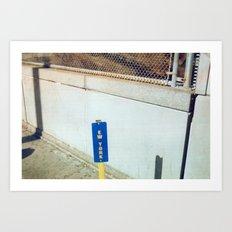 Ew York Art Print