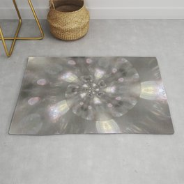 Light Speed - Abstract Photographic Art by Fluid Nature Rug