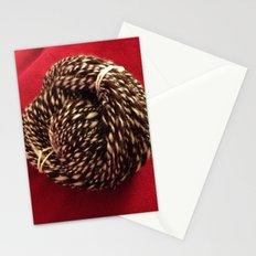 Chocolate Escher Handspun Art Yarn Stationery Cards