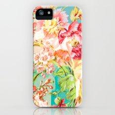 hide and seek floral Slim Case iPhone (5, 5s)