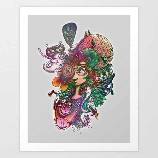 Designing Life Art Print