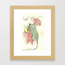 Good to see you Framed Art Print