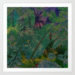 Botanical Sea Art Print