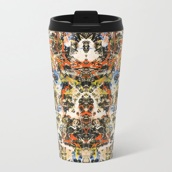 Reflecting Pollock 2 Metal Travel Mug