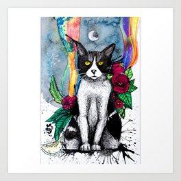 Cat - Shaman Art Print