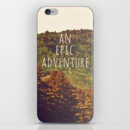 An Epic Adventure iPhone Skin