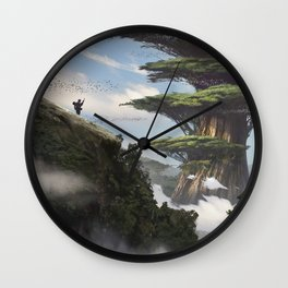 L'arbre Wall Clock