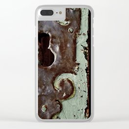 the lost key Clear iPhone Case