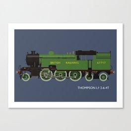 Thompson L1 2-6-4T Canvas Print