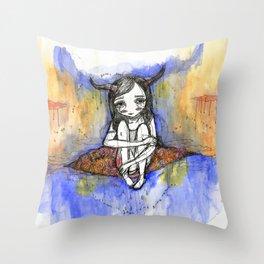 balance / after the storm Throw Pillow
