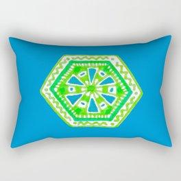 Turtle Hexagon Rectangular Pillow