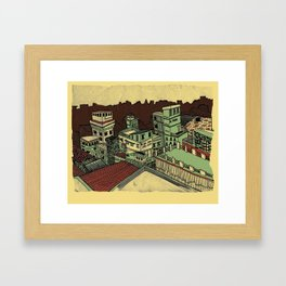 I Dreamed This Place For Us Framed Art Print