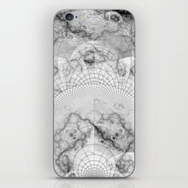 Foliated Marble as a Geometric Map of the Universe iPhone Skin