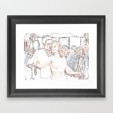 Evis - Viva Las Vegas Framed Art Print