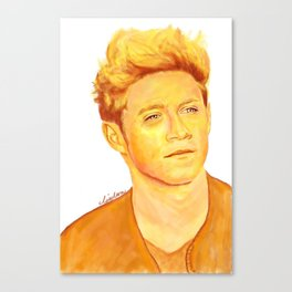 Niall Horan Painting Canvas Print