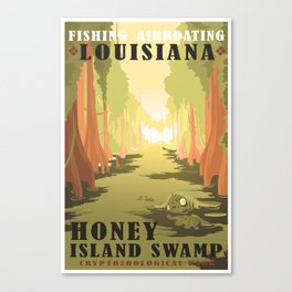 CPS: Honey Island, LA Canvas Print