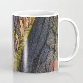 Kawase Hasui - The Eight Views Of Korea, Samburam Rock, Kumgang Mountain Coffee Mug