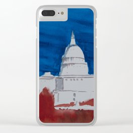 House Divided Clear iPhone Case