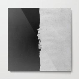 Natasha & Steve | Split Metal Print