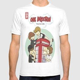 Take Me Home Cartoon One Direction T-shirt