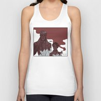 snk Tank Tops featuring old men by rhymewithrachel