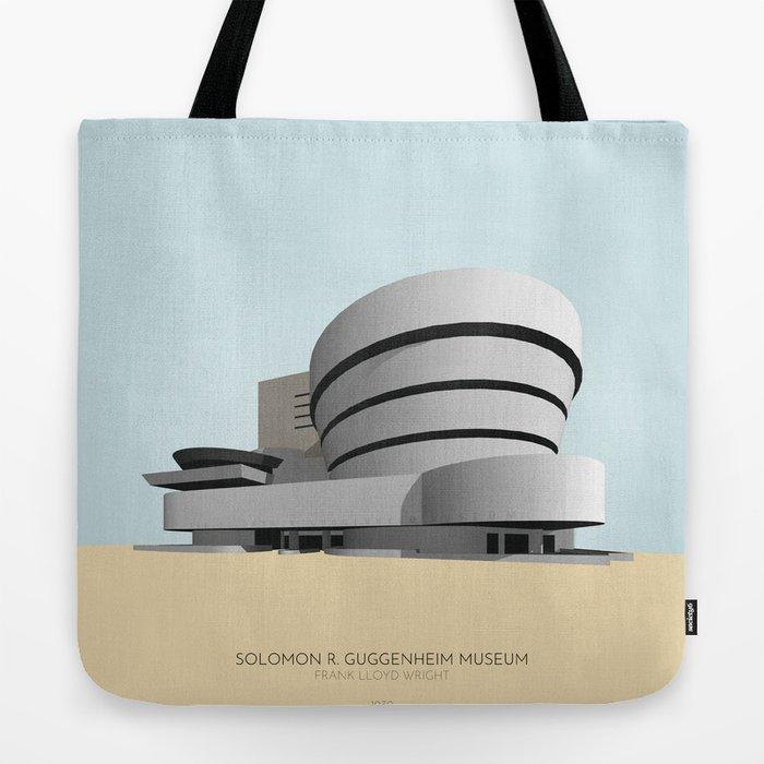 Gugggenheim Museum New York Tote Bag