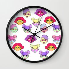 Don't Tell Me To Smile Wall Clock